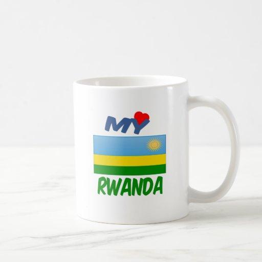 My Love Rwanda. Classic White Coffee Mug