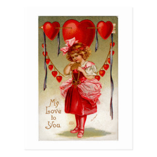 My Love To You Postcard