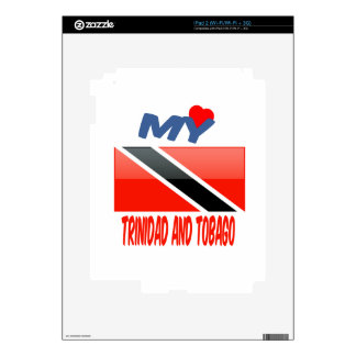 My Love Trinidad and Tobago. Decal For iPad 2