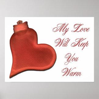 My Love Will Keep You Warm Print