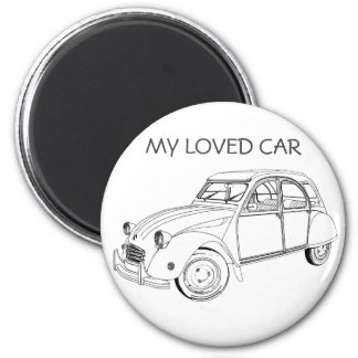 My loved to car: Citroën 2 CB Magnet