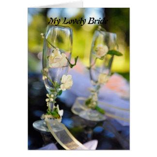 My Lovely Bride Card