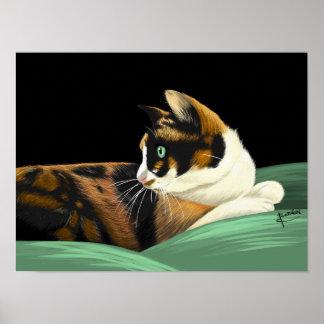 My lovely cat poster