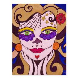 """""""My Lovely Skull"""" Postcard"""