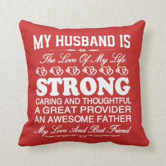 MY LOVER AND BEST FRIEND! THROW PILLOW