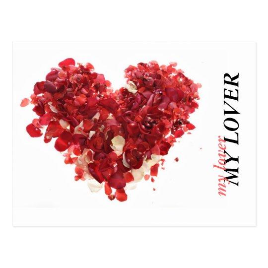 MY LOVER, my lover Postcard