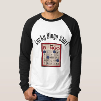 My Lucky Bingo Funny Game Humorous T-Shirt