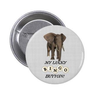 MY LUCKY BUTTON! PINBACK BUTTON