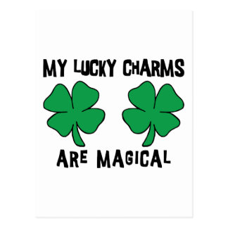 MY Lucky Charms Are Magical Postcard