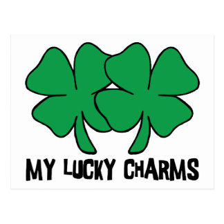My Lucky Charms Gift Postcard
