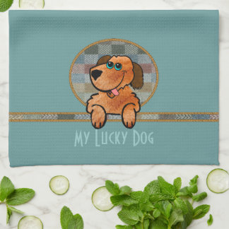 My Lucky Dog Kitchen Towel