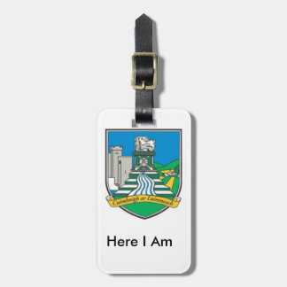 My Luggage Personalised Limerick County ID Tag