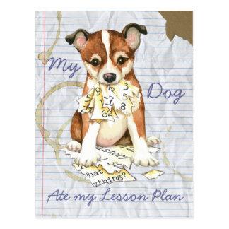 My Lundehund Ate My Lesson Plan Postcard