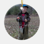 My Lunker Personal Fishing Photo Christmas Ornament