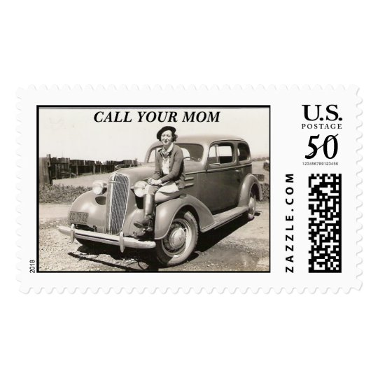 my MA, CALL YOUR MOM Postage