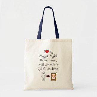 My Magyar Agár Loves Peanut Butter Bags