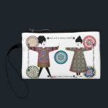 """My Mah Jongg Coat 06: Coin Purse<br><div class=""""desc"""">Designs in this set feature vintage Mah Jongg one dot tiles and traditional Chinese robes. Stylish women enhance some of the designs. - Customizable greeting cards - Magnets - Posters with optional frames: 18""""x24"""" &amp; 36""""x12"""" - Ceramic tiles in 2 sizes with optional frames or boxes - Canvas bags in...</div>"""