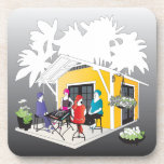 """My Mah Jongg Cottage Beverage Coaster<br><div class=""""desc"""">Matching gifts for your Mah Jongg friends.</div>"""