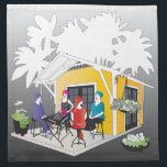 "My Mah Jongg Cottage Cloth Napkin<br><div class=""desc"">Matching gifts for your Mah Jongg friends.</div>"