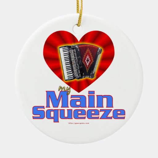My Main Squeeze Christmas Tree Ornaments