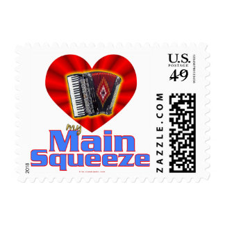 My Main Squeeze Postage Stamps