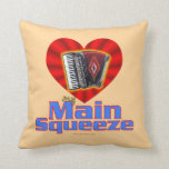 My Main Squeeze Throw Pillows