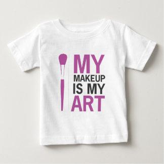 My Makeup is my Art Baby T-Shirt