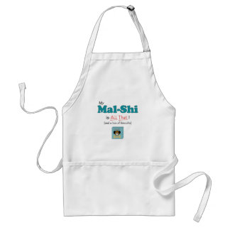 My Mal-Shi is All That! Adult Apron