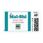 My Mal-Shi is All That! Stamps