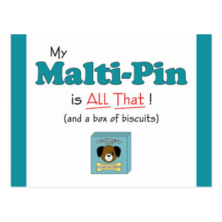 My Malti-Pin is All That! Post Cards