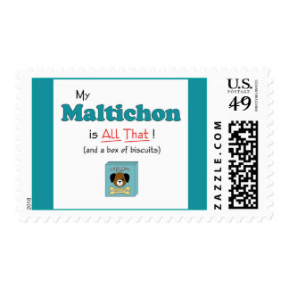 My Maltichon is All That! Postage
