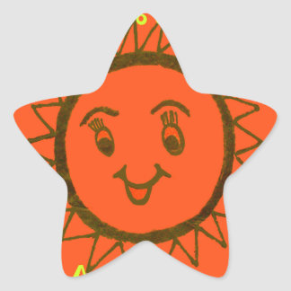 My Mam Is Awesome Star Sticker