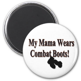 My Mama Wears Combat Boots Magnet