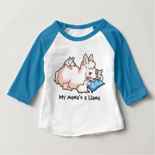 a420e31dc0a My Mama s a Llama Baby T-Shirt