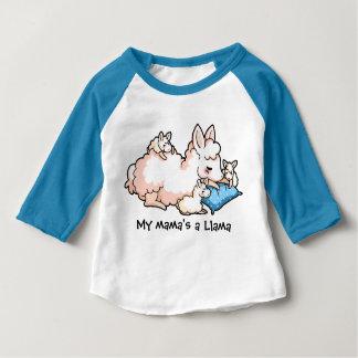 My Mama's a Llama Baby T-Shirt