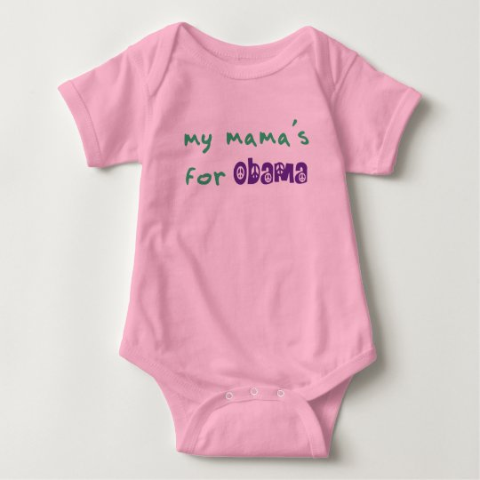 My Mama's For Obama Bodysuit