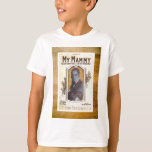 My Mammy Al Jolson Vintage Sheet Piano Music T-Shirt
