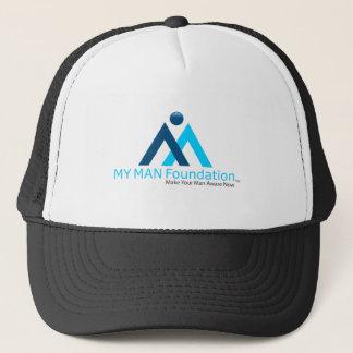 MY MAN Foundation logo shirt Trucker Hat
