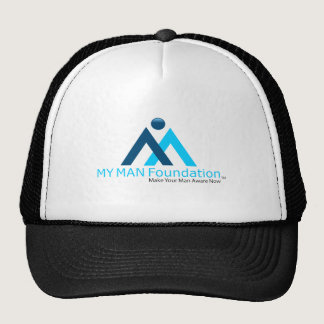 MY MAN Foundation logo shirt Trucker Hat