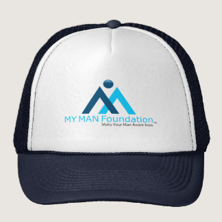 MY MAN Logo Trucker Hat