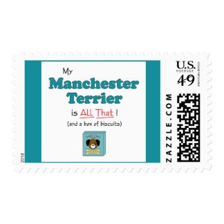 My Manchester Terrier is All That! Postage