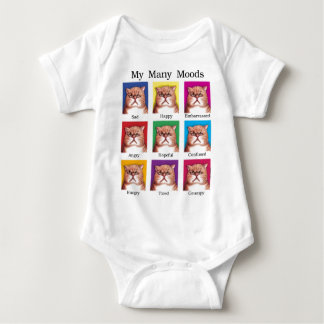 My Many Moods Baby Bodysuit