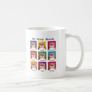 My Many Moods Classic White Coffee Mug