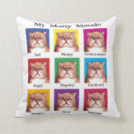 My Many Moods pillow