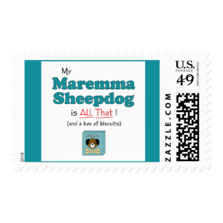 My Maremma Sheepdog is All That! Postage