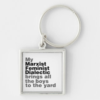 My Marxist Feminist Dialectic Brings all the boys Key Chain