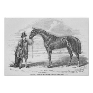 My Mary', winner of the Yorkshire Handicap Poster