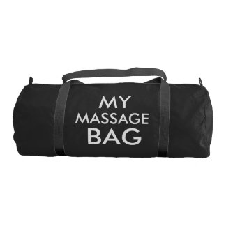 MY MASSAGE BAG - DUFFLE BAG