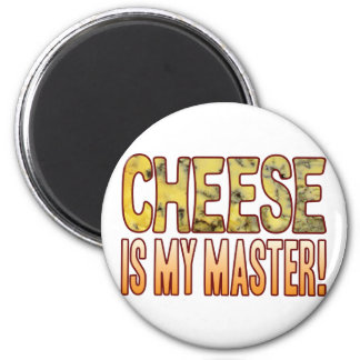 My Master Blue Cheese 2 Inch Round Magnet