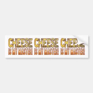 My Master Blue Cheese Bumper Sticker